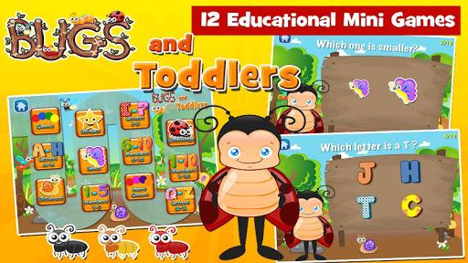 幼児のためのすべてのゲーム:バグ