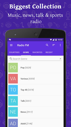 Radio FM Screenshot