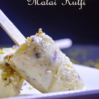 Malai Kulfi Recipe | How to make easy Milk Kulfi with condensed Milk.