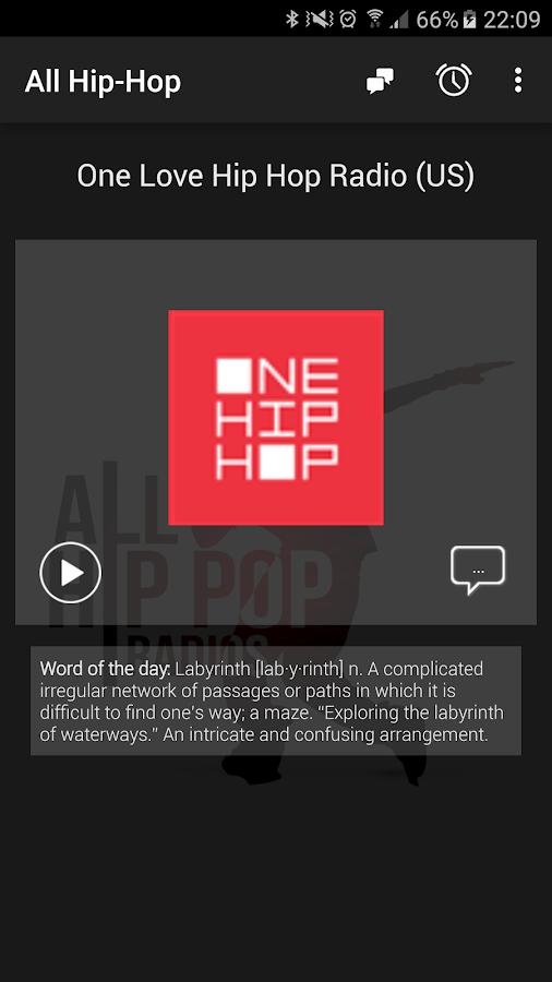 hip hop radio android apps on google play. Black Bedroom Furniture Sets. Home Design Ideas