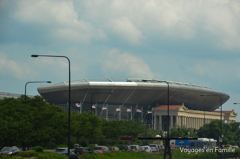 Soldier's field stadium