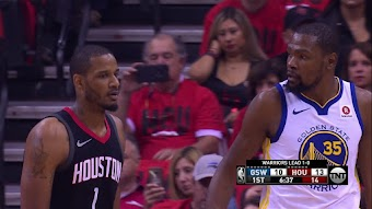 Golden State at Houston, Game 2 from 05/16/2018