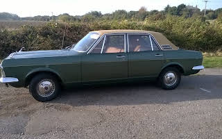 Ford Zephyr Mark 4 Rent East Midlands