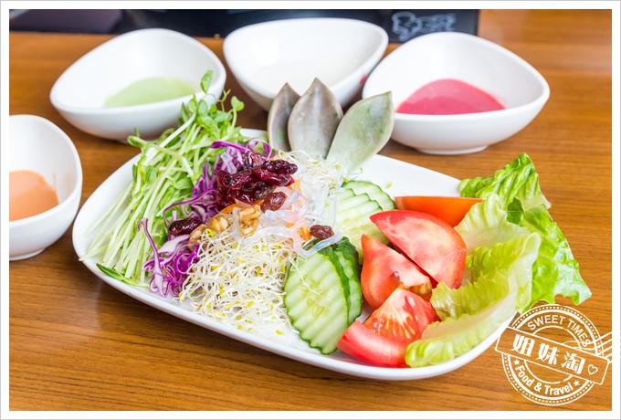 上竹林食草館養生汆燙鍋-沙拉