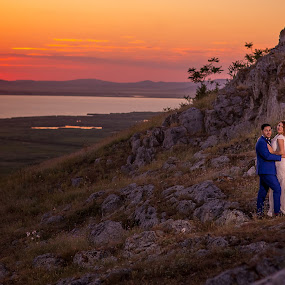 ENISALA LOVE by Adrian Penes - Wedding Bride & Groom ( love, nature, wedding, bride and groom, historic )