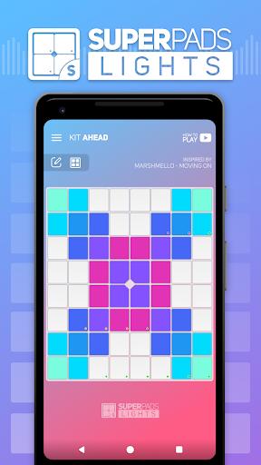 SUPER PADS LIGHTS - Your DJ app 1.5.7 screenshots 1