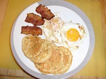 Potato Pancakes from Leftover Mashed