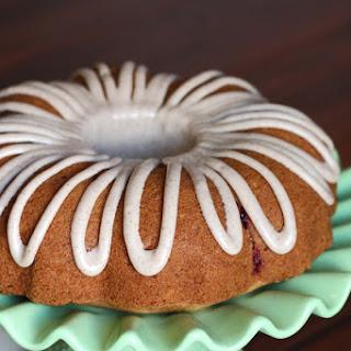 Gluten Free Vegan Apple Cranberry Bundt Cake