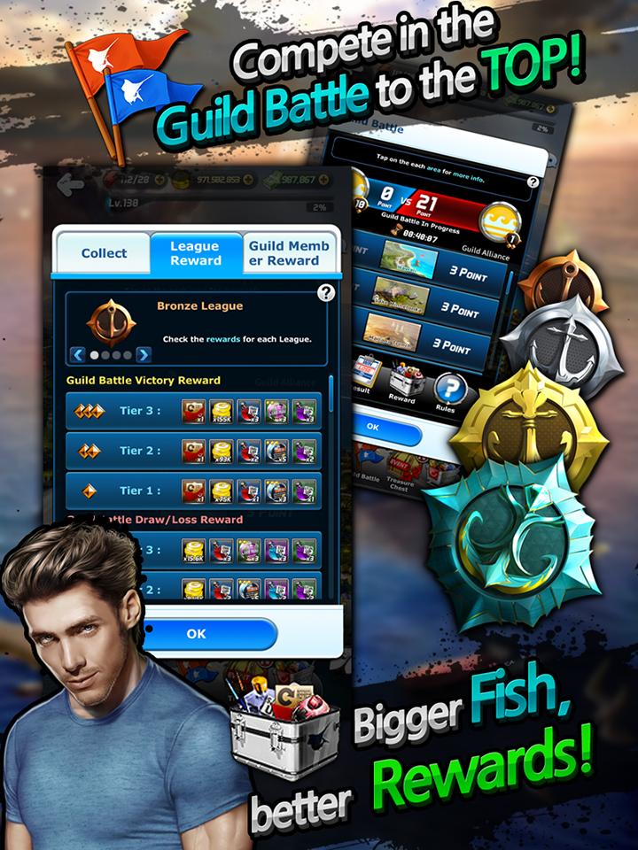 Ace Fishing: Wild Catch screenshot #5