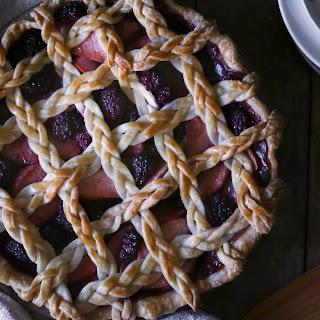 Apple-Berry Pie with Braided Lattice Crust