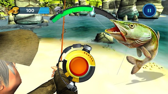 Wild fishing hook simulator fish catch android free app for Fishing hook game