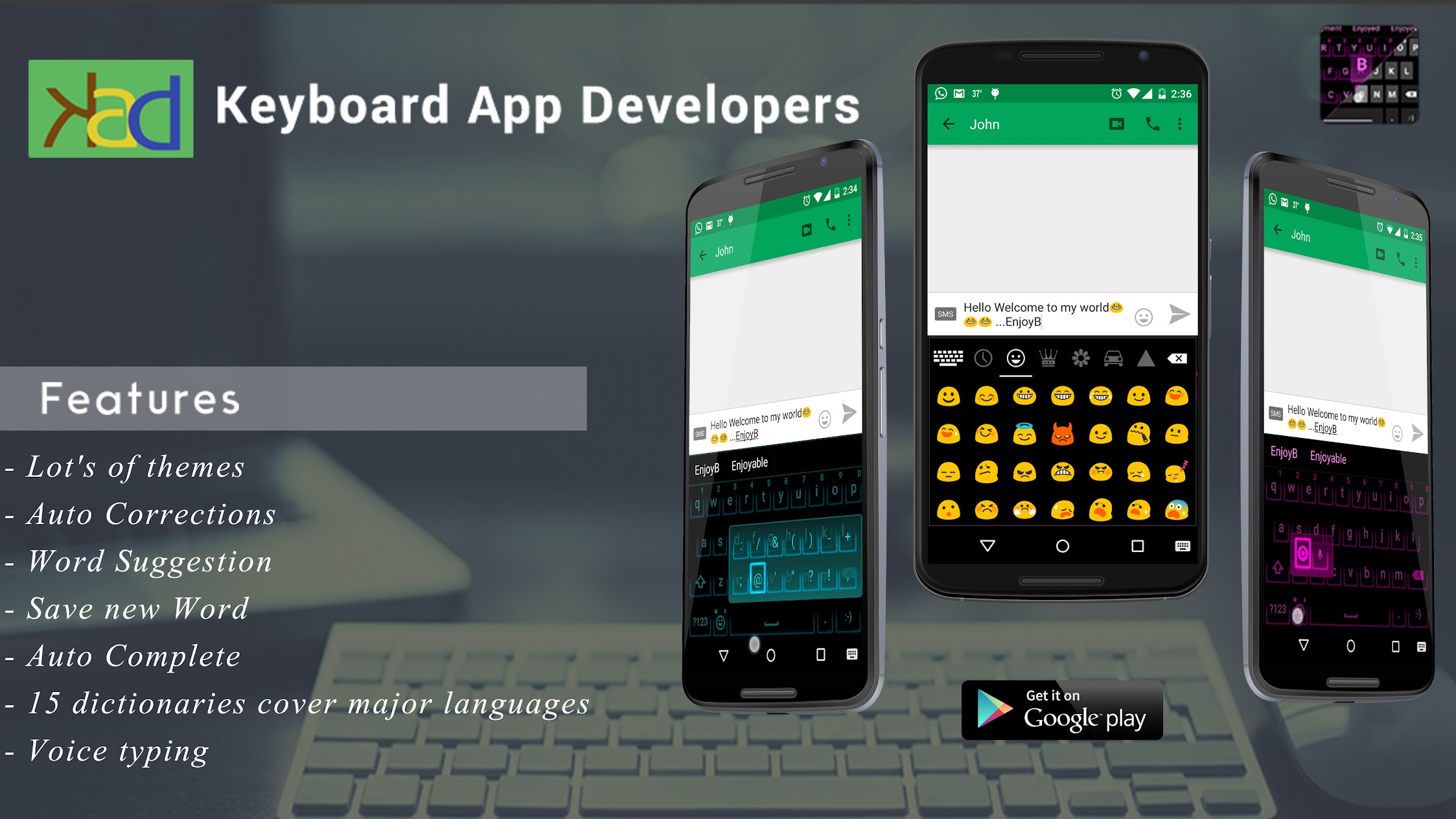Keyboard Apps Developer