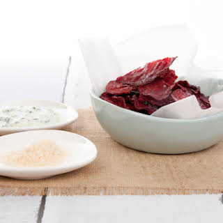 Beetroot Chips.