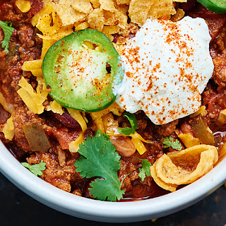 Slow Cooker Beef Chili.