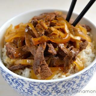 Asian Style Steak