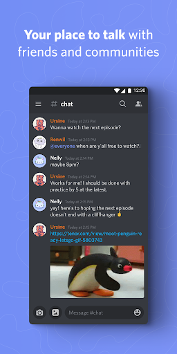 Discord - Talk, Video Chat & Hang Out with Friends 36.5 Screenshots 1