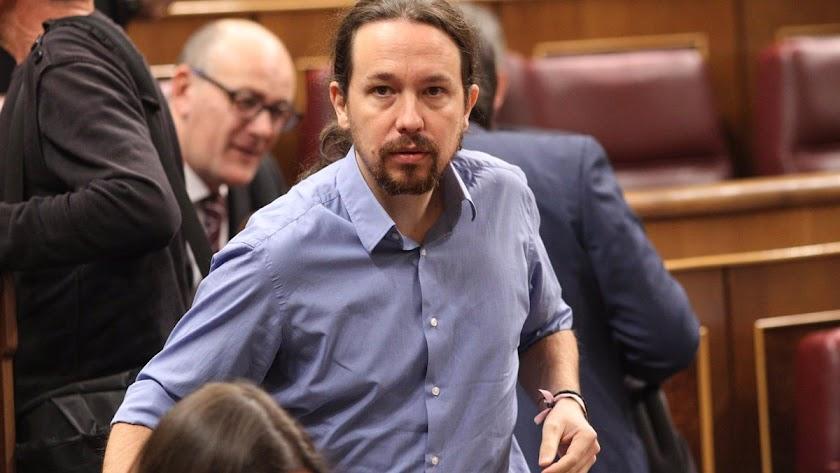El vicepresidente del Gobierno Pablo Iglesias, en una imagen de archivo.