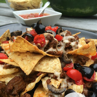 Grilled Nachos--My Newest Obsession! Recipe