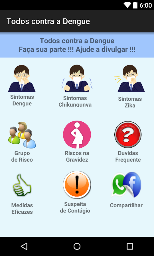 Todos contra a Dengue- screenshot
