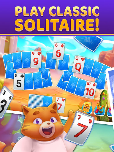 Puzzle Solitaire - Tripeaks Escape with Friends android2mod screenshots 6