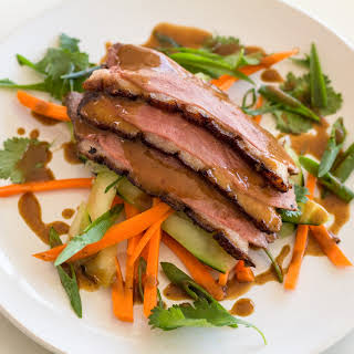 Sous Vide Crispy Chinese Duck Breast.