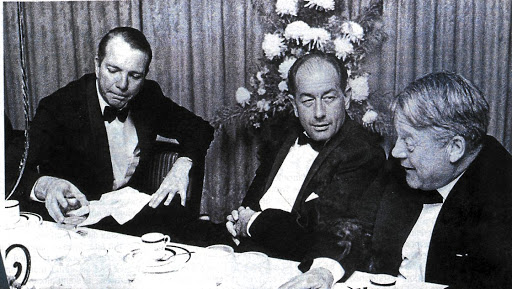 L to R: Peter Duminy, George Palmer and John Marvin. Circa 1959. Picture: Financial Mail