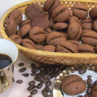 Aromatic cookie «Coffee beans».