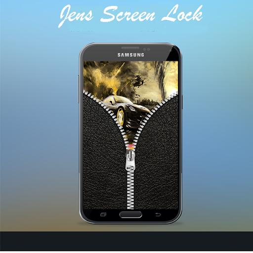 Jeans Screen Lock Zipper