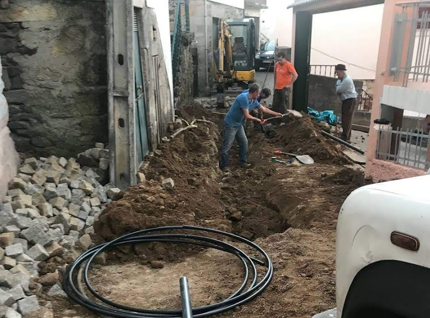 Intervenção em Figueira renova rede de distribuição de água