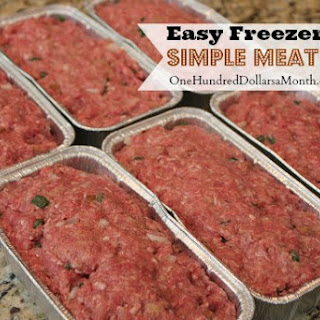 Beef Mince Meat Loaf Recipes