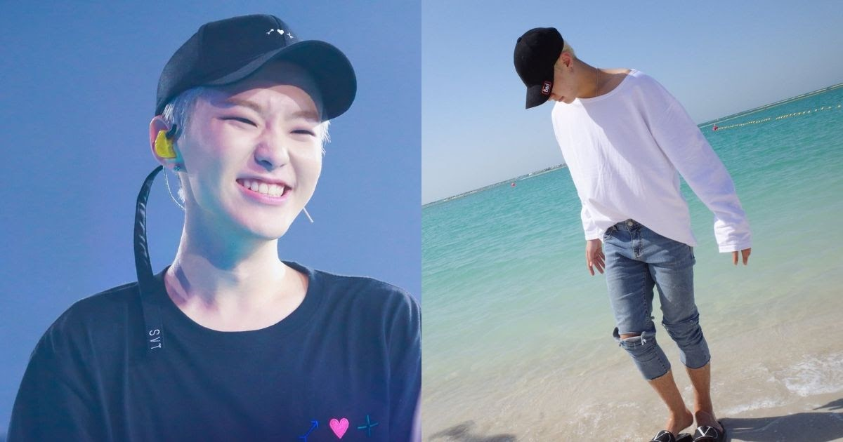 Seventeen S Hoshi Looked Cute In Pictures Of Himself Enjoying His Down Time
