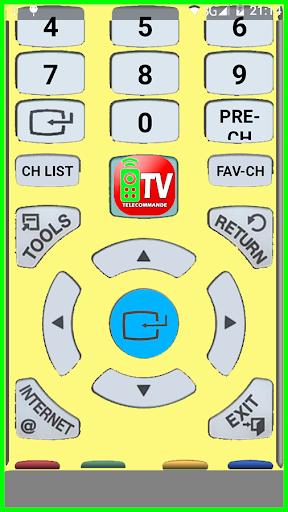 التحكم في التلفزيون عن بعد