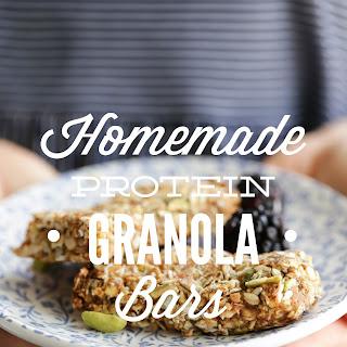 Homemade Protein Granola Bars.