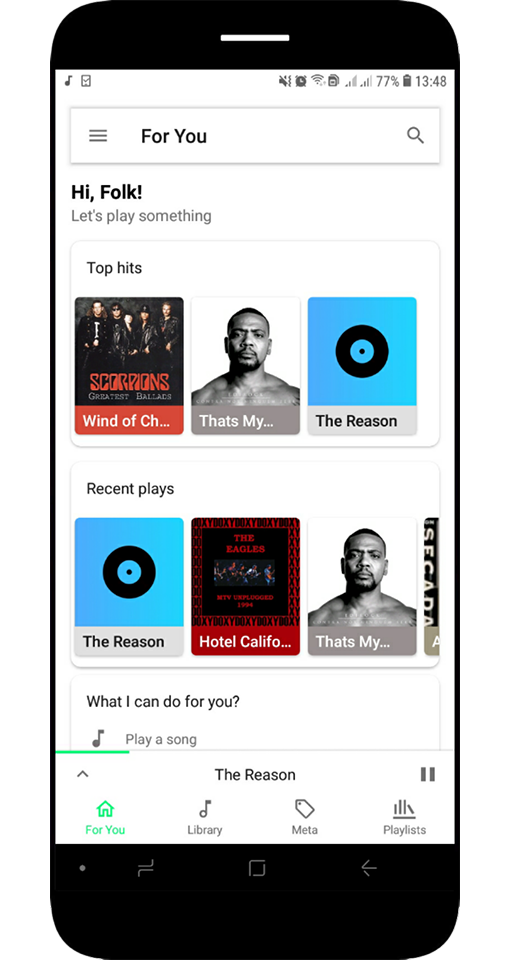 Prime Music - Audio Player Pro - No Ads Screenshot 0
