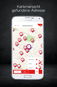 Vodafone Hotspotfinder screenshot 0