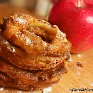 Cinnamon Sugar Apple RIngs!