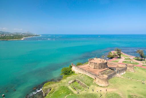 Dominican-Republic-El-Morro - El Morro de San Felipe in the Dominican Republic.