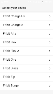 Finder for Fitbit- screenshot thumbnail