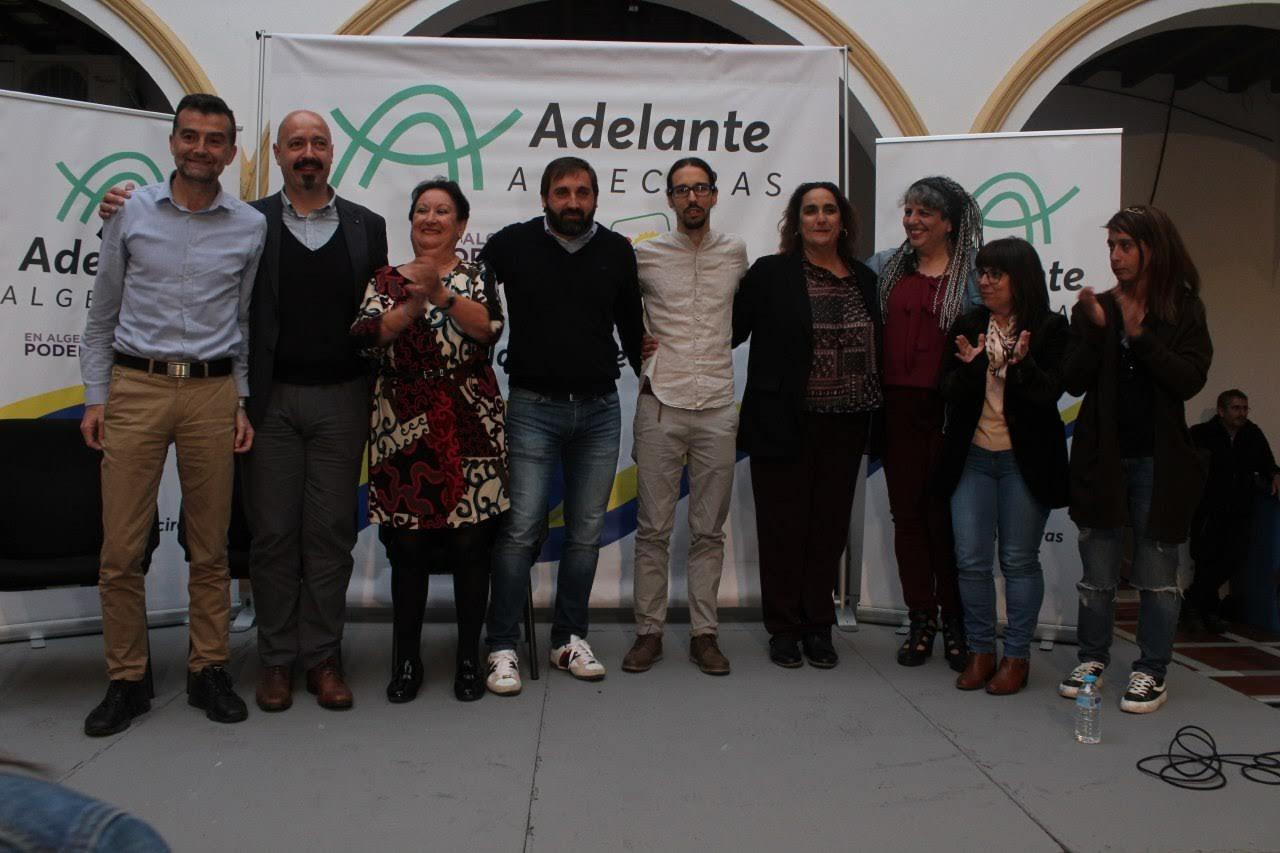 Javi Viso se presenta como candidato a la Alcaldía por Adelante Algeciras con un alegato a la honradez, el trabajo y escuchar a la ciudadanía