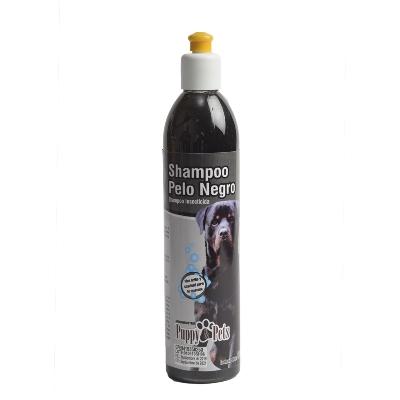 Champu Para Mascotas Puppy Pelo Negro 390Ml