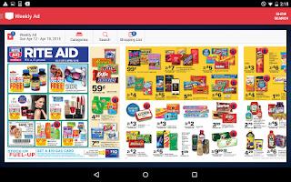 Screenshot of Rite Aid Pharmacy