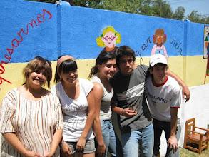 Photo: Trabajos Voluntario en Jardín Belén comuna Peñalolén. Profesora Cecilia Godoy y alumnos 2010