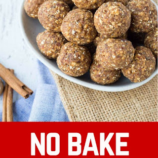 Apple Cinnamon No Bake Energy Bites Recipe