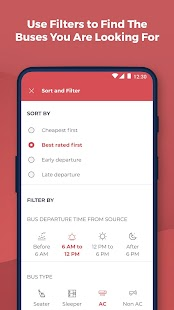 redBus | rPool Online bus ticket booking & Carpool Screenshot