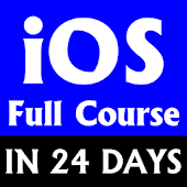 Learn iOS Full Course in 24 days