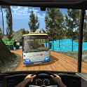 Modern Mountain Bus Driver : Uphill Coach Driving icon