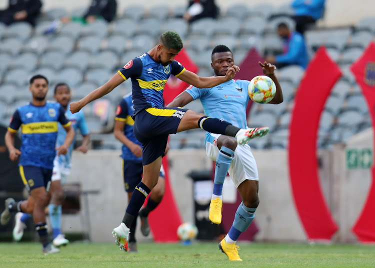 Abbubaker Mobara was excellent at the back for Cape Town City in their Absa Premiership clash against Chippa United at Orlando Stadium on August 14 2020.
