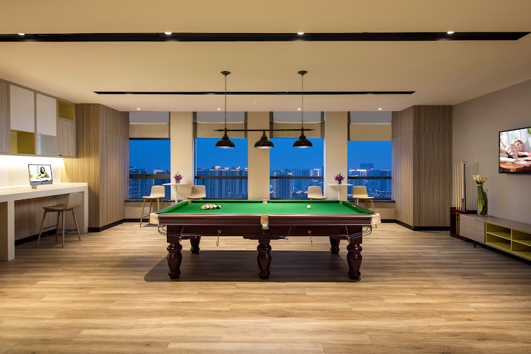 Billiards at Citadines Gaoxin
