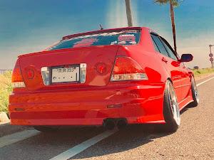 アルテッツァ SXE10 RS200  SXE10改  12年のカスタム事例画像 マルちゃんさんの2018年10月23日17:54の投稿