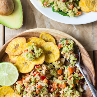 Easy Paleo Avocado Lime Tuna Salad.